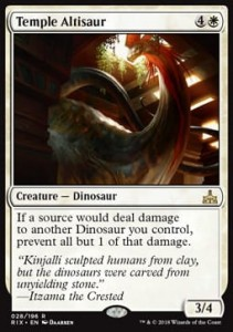 Temple Altisaur (Rivals of Ixalan)
