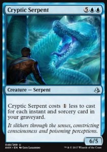 Cryptic Serpent (Amonkhet)