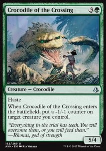 Crocodile of the Crossing (Amonkhet)