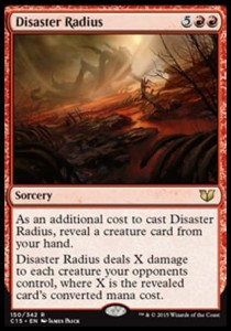 Disaster Radius (Commander 2015)