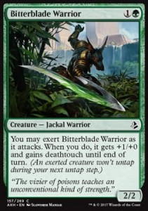 Bitterblade Warrior (Amonkhet)