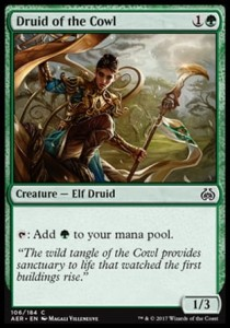 Druid of the Cowl (Aether Revolt)