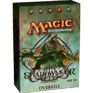 Shadowmoor: Overkill Theme Deck