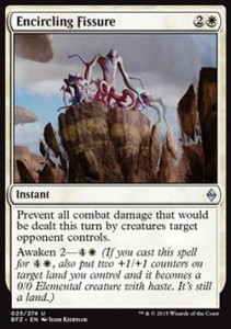 Encircling Fissure (Battle for Zendikar)