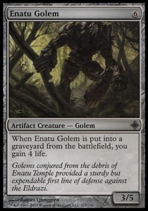 Enatu Golem (Rise of the Eldrazi)