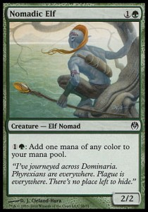 Nomadic Elf (DD: Phyrexia vs. The Coalition )