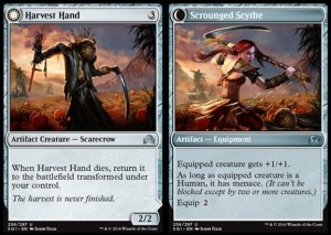 Harvest Hand / Scrounged Scythe (Shadows over Innistrad)