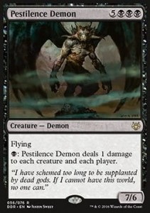 Pestilence Demon (DD: Nissa vs Ob Nixilis)