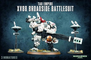 Tau Empire - XV88 Broadside Battlesuit - WH 40K