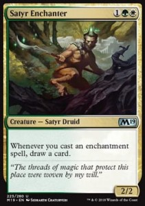 Satyr Enchanter (M19 Core Set)