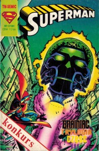 TM - Semic - Superman 12/1991 - Brainiac Trylogia cz. III