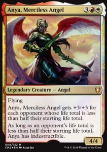 Anya, Merciless Angel - FOIL (Commander Anthology II)
