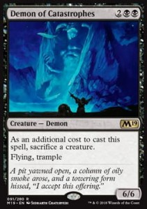 Demon of Catastrophes (M19 Core Set)