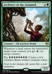 Architect of the Untamed (Kaladesh)