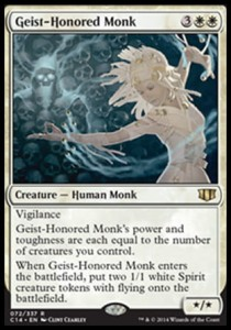 Geist-Honored Monk (Commander 2014)
