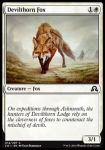 Devilthorn Fox (Shadows over Innistrad)